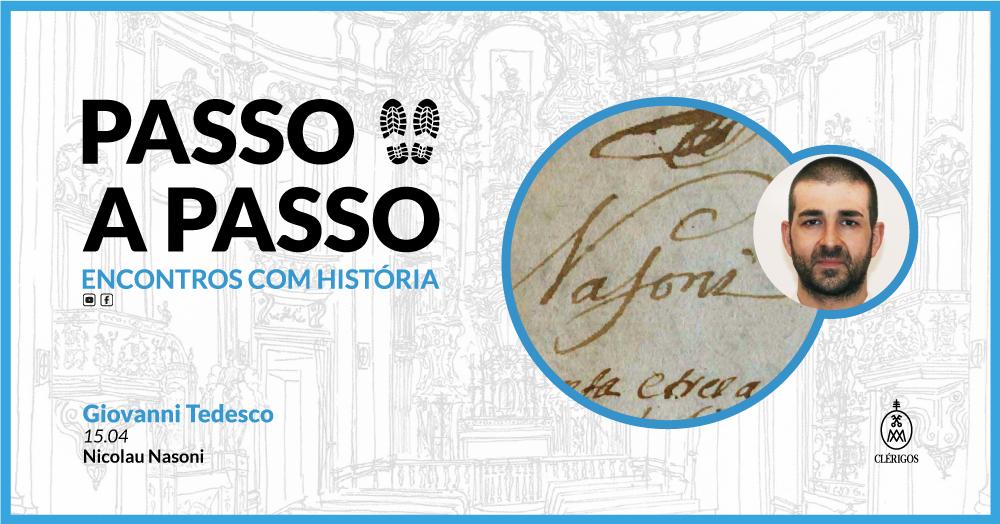 Passo a Passo, Encontros com História - Ep.4 com Giovanni Tedesco