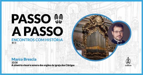 Passo a Passo, Encontros com História - Ep.8 com Marco Brescia Torre dos Clérigos